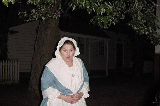 Colonial Williamsburg Ghost Guided