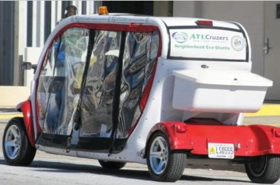 Atlanta City Electric Car Guided, 90-Minute Sightseeing Tour