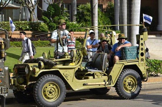 修復した米軍ジープで行くホーチミン半日ツアー