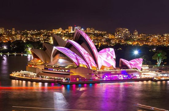 Sydney Harbour VIVID Lights Cruise