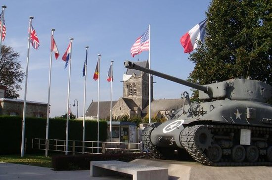 Private Tour: Full-Day Tour to American D-Day Beaches from Bayeux
