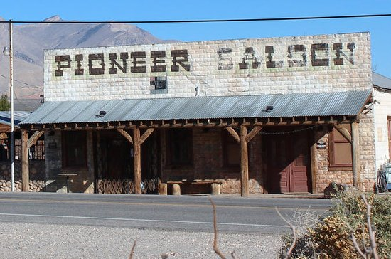 Historical Tour of the Pioneer Saloon...
