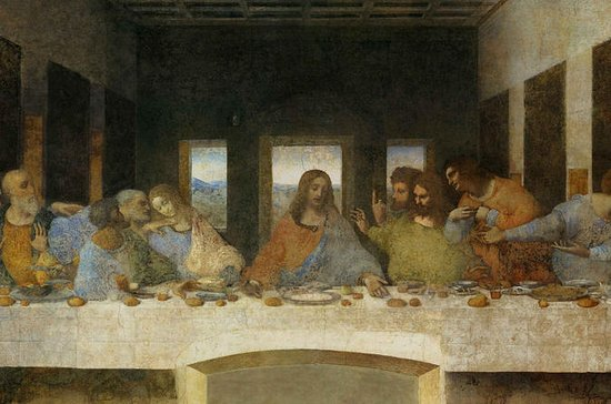 Leonardo da Vinci's 'The Last Supper ...