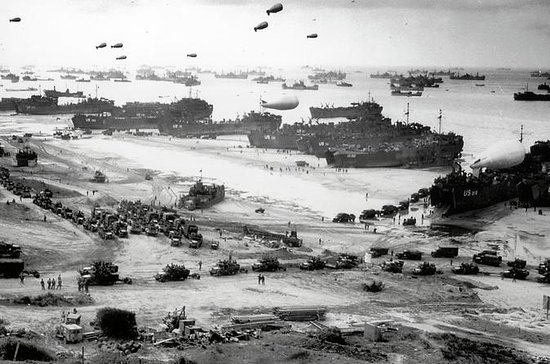 American D-Day Beaches Half-Day...