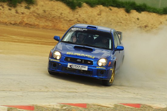 Loheac, France: Baptême de piste Rallycross