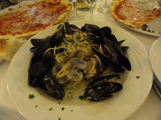 Bagni Parequa: pâtes aux fruits de mer