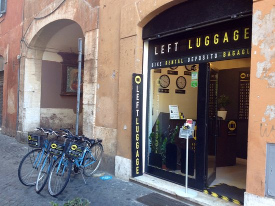Rome Left Luggage & Bike Rental