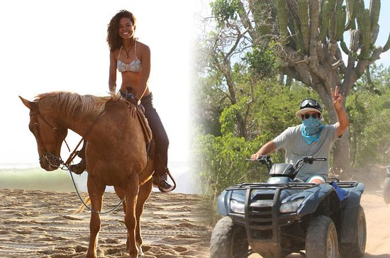 ATV en Pacific Horseback Riding Combo ...