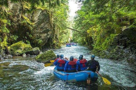 White Salmon River Rafting Half-Day ...