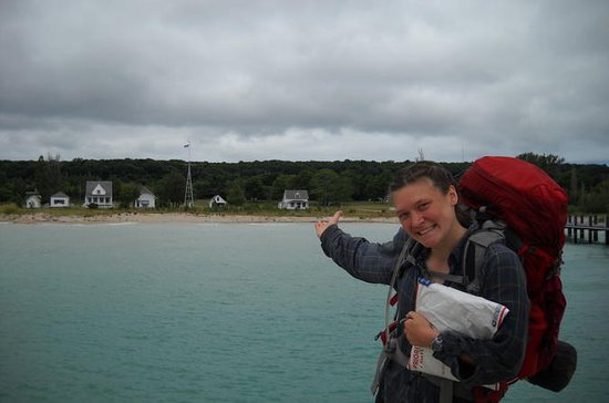 Backpacking North Manitou Island...