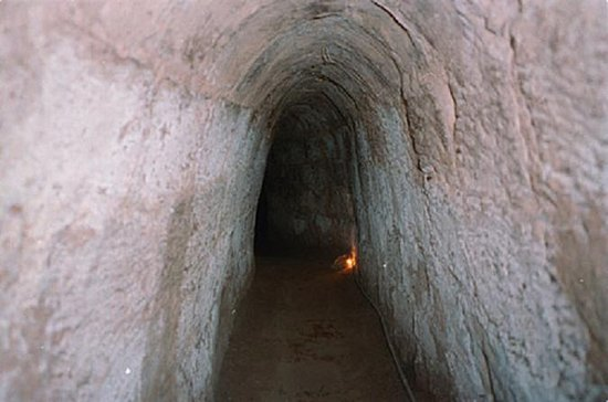 Cu Chi Tunnels Half-Day Tour from Ho...