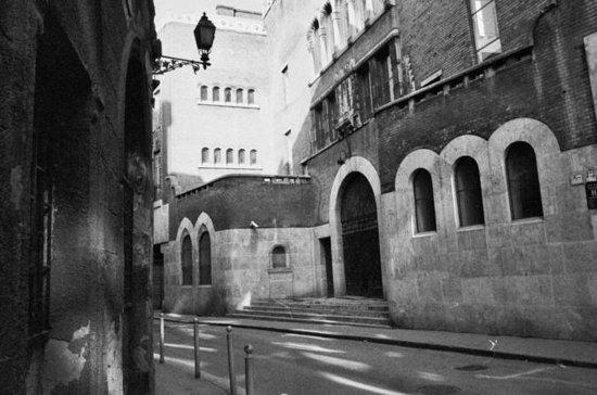 Budapeste City Walk no bairro judeu
