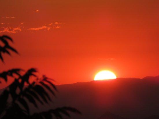 Zomba, Malawi: Sonnenuntergang