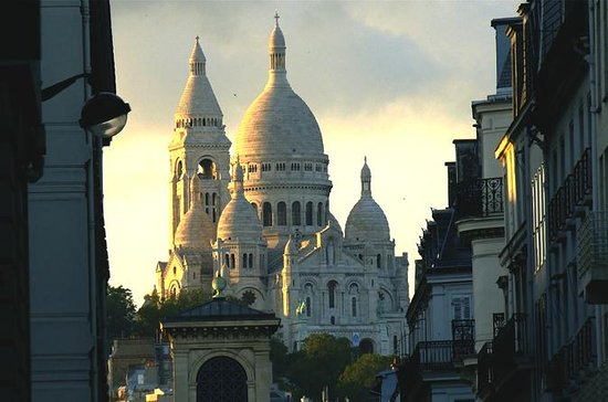 Paris Montmartre District and Sacre