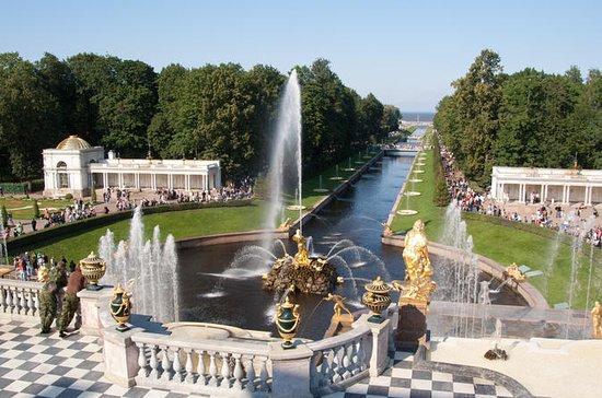 Prive Peterhof Grand Palace en Park ...