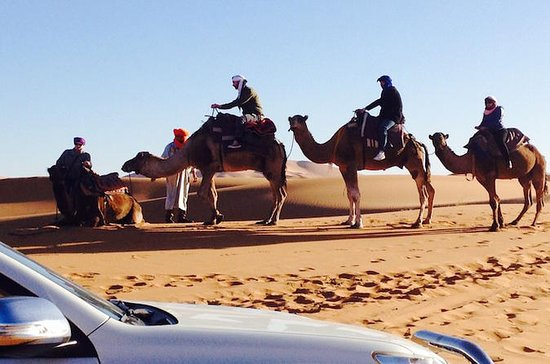 Excursion privée dans le désert du Sahara au départ de Marrakech : Sahara Desert Private Tour from Marrakech