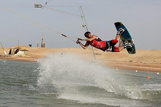 Cable wakeboard à Hourghada