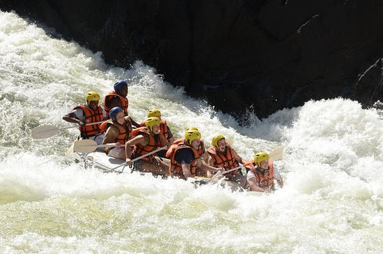 Whitewater Rafting on the Zambezi...