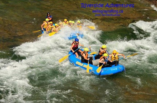 Riverside Rafting on Clearwater River...