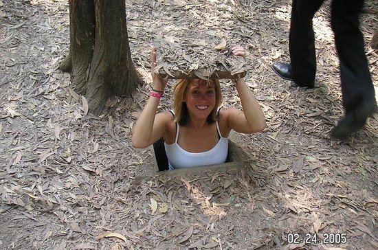 Small-Group Cu Chi Tunnels Half-Day...