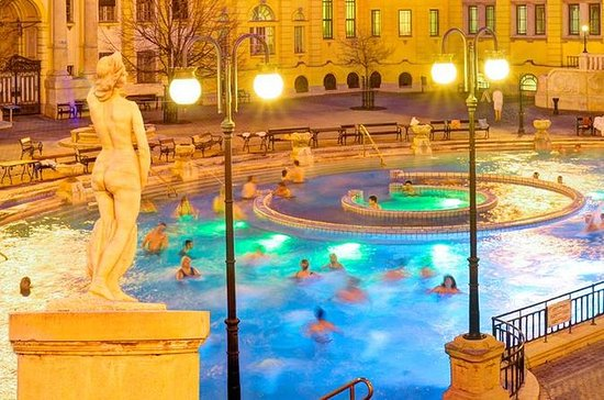 Budapest Szechenyi Spa Entrance with...