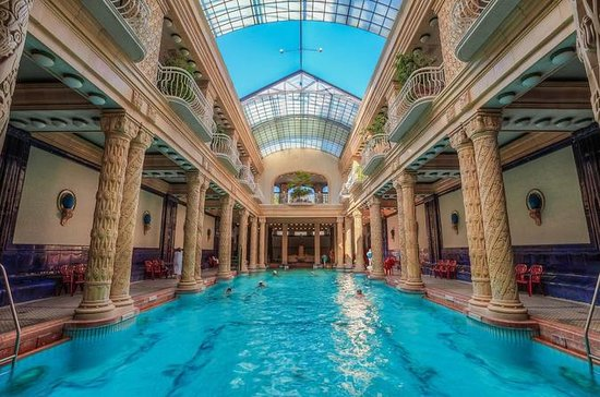 Budapest Gellert Spa Entrance with...