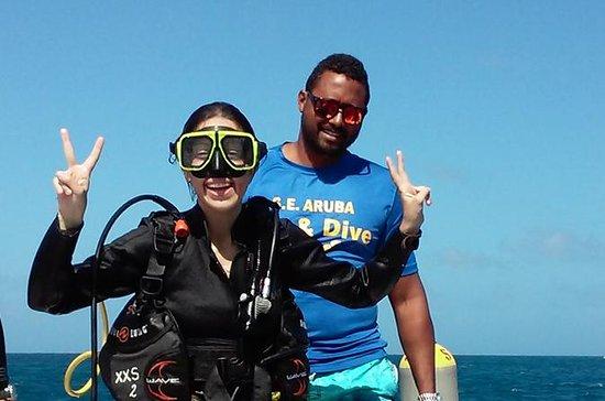 Cours de plongée sous-marine à Aruba