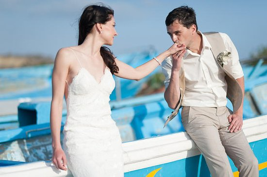 Cérémonie de mariage de plage de Quito