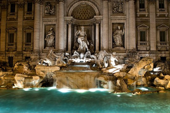 Rome Night Tour with Trevi Fountain...