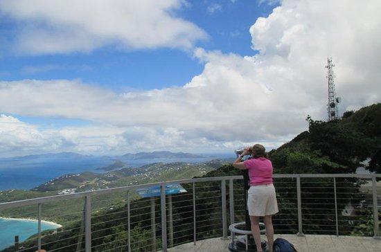 St Thomas Island Tour: Mountain Top...