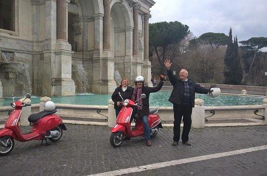 I Colli dell'Antica Roma in Vespa