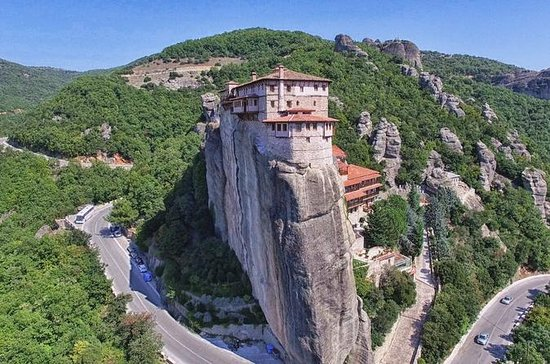 Panoramic Meteora and all Monasteries...
