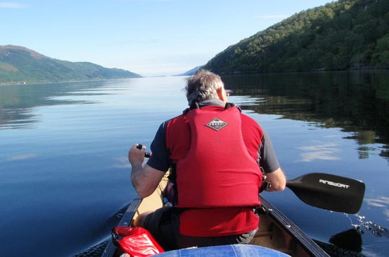Canoeing on Loch Ness Taster Trip...