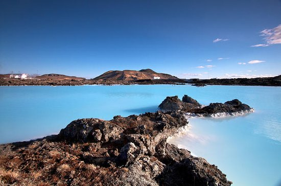 Reykjanes Peninsula with Blue Lagoon...