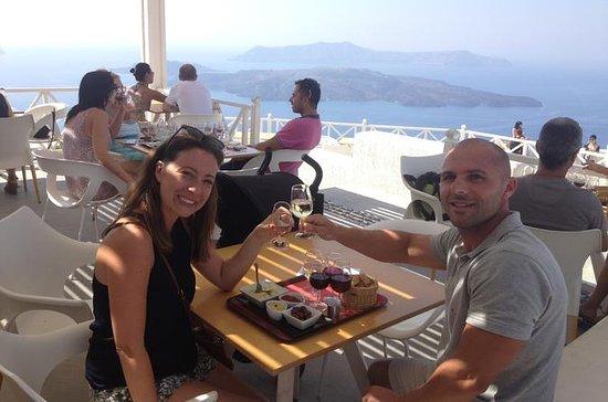 História privado de Santorini e...