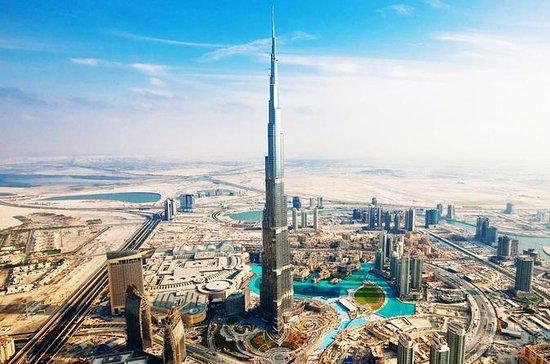 Burj Khalifa 124th Floor and Dubai...
