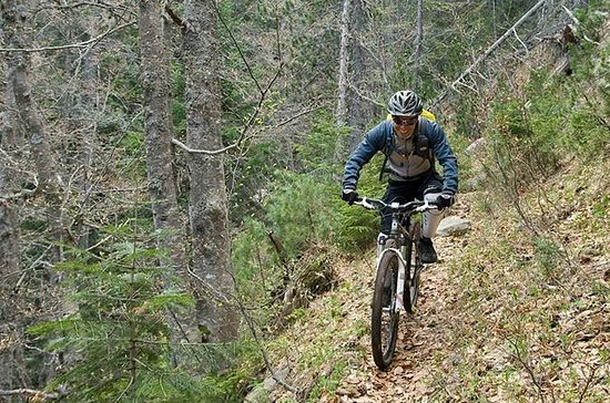 Mountainbiking in Vitosha von Sofia