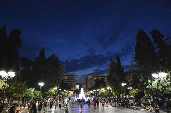 Athens Night Tour with Drink and Meze