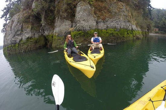 Kayaking Brookings Chetco River