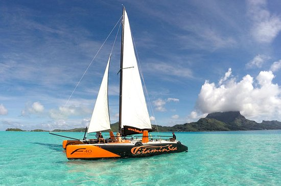 Bora Bora Sailing Catamaran Half-Day