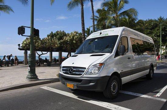 Navette express aéroport - Aéroport d'Honolulu aux hôtels de Waikiki