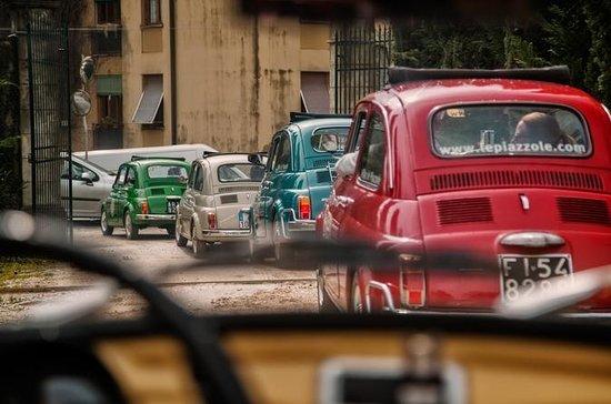Klassischer Chianti Hügel Fiat 500...