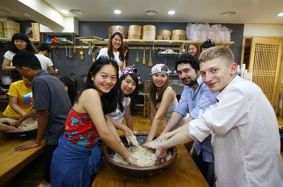 Seoul Food Tour with Winemaking Lesson or Vegetarian Dinner