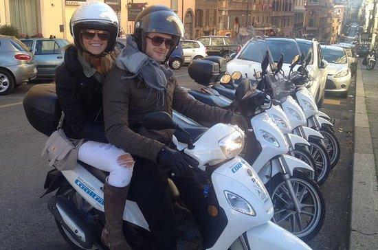 Excursão particular de dia inteiro de scooter pela histórica Roma