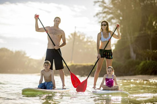 Guided Paddleboard Tour on a Local Mountain Lake