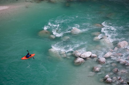 Guided Kayak Descent on Soca River...