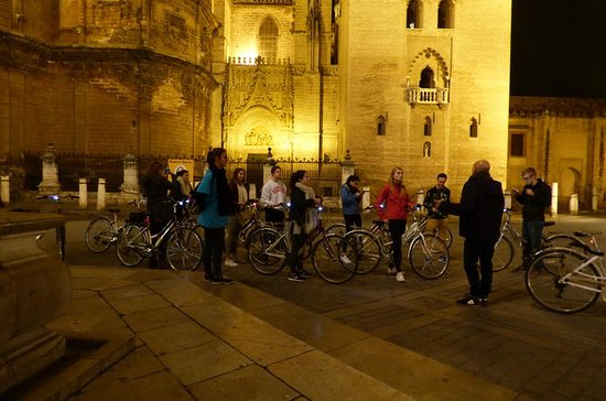 Sunset Guided Bike Tour in Seville