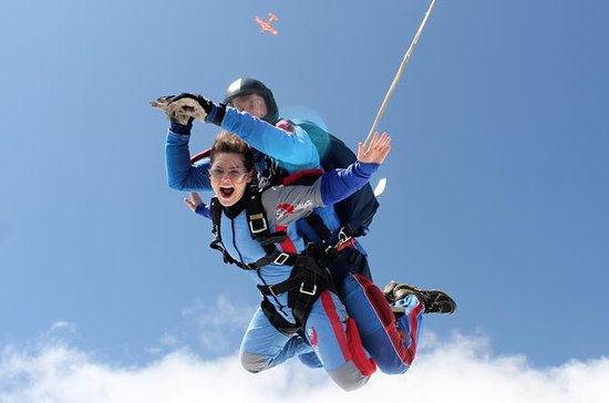 Tandem Skydiving Adventure in Prague