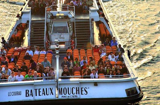 Paseo en barco y autobús en París