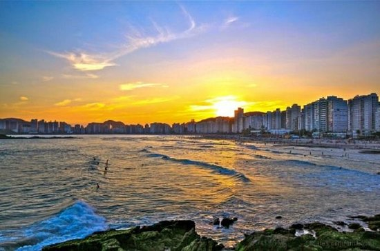 Private Tour: Santos and Guaruja Beach
